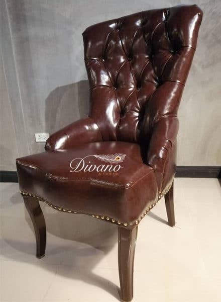 เก้าอี้กระดุม