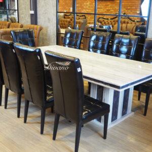 โต๊ะอาหารหิน 10 ที่นั่ง